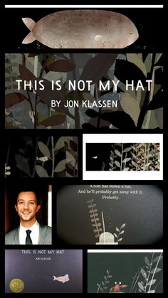 """""""This Is Not My Hat"""" illustrated and written by Jon Klassen is the 2013 Caldecott Medal winner."""