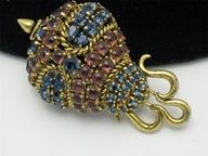 RARE Vintage Brooch Made in Germany for Christian Dior Dated 1964 Rhinestone | eBay  http://pinterest.com/beyondtheawning/pin-your-ebay-wares-sharing-our-products-around-th/