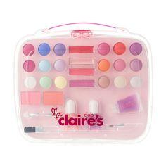 Lavender Nail Polish, Lavender Nails, Makeup Kit For Kids, Kids Makeup, Claire's Makeup, Makeup Sets, Beauty Makeup, Unicorn Fashion, Make Up Kits