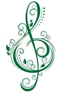 ideas for music symbols art design treble clef Tatoo Music, Music Tattoos, Life Tattoos, Body Art Tattoos, Small Tattoos, Faith Tattoos, Tattoo Small, Tatoos, Word Tattoos