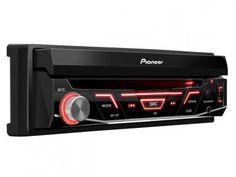 """DVD Automotivo Pioneer AVH-3880DVD Retrátil - Tela 7"""" Touch Screen USB com as melhores condições você encontra no Magazine Bemmaispratico. Confira!"""