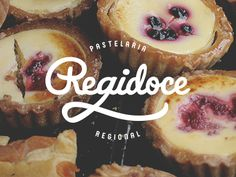 Regidoce Logo  -   logo blanc sur photo, love it