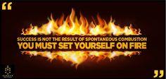 Success needs fire. #Liftup #Sumaya