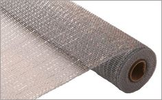 This is a wide, 10 yard length roll of platinum silver deco poly mesh. The material is a plastic mesh and is waterproof, durable and reusable. This mesh is a good choice for making outdoor decorations and wreaths. Deco Mesh Ribbon, Plastic Mesh, Coupon, Metal Mesh, Canvas Crafts, Sewing Stores, Younique, Sewing Crafts, Craft Supplies