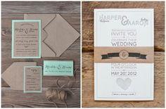 convite casamento papel kraft inspire minha filha vai casar-11