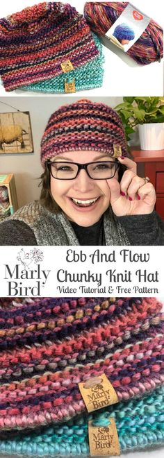 Looking for a last minute DIY Christmas gift idea? Grab some Evermore yarn and follow along with this free knitting pattern & video tutorial by Marly Bird!