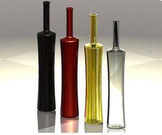 Botellas diversas