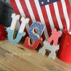USA Letters