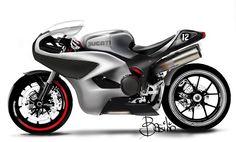 Cafè Racer sketch on Behance