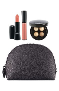 M·A·C 'Keepsakes - Gold' Lip & Eye Bag (Nordstrom Exclusive)(Limited Edition) ($90 Value) available at #Nordstrom