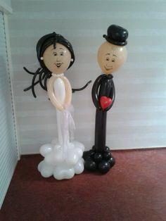 Balloon Wendung couple by Tanja Schneider www.Candyandballoon.de
