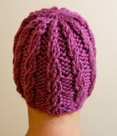Braided Hat Pattern - Perhaps for my sister.