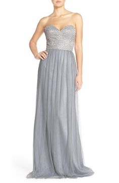 Hayley Paige, $260, Nordstrom, Color: Silver/Pewter
