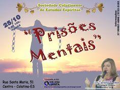 """""""Prisões Mentais"""", com Drª Taciana Freitas ao vivo no Canal 4 - REDE AMIGO ESPÍRITA"""