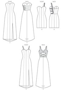 M6894 | Misses' Dresses | New Sewing Patterns | McCall's Patterns