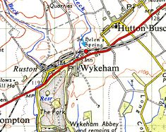 Disused Stations: Wykeham Station Disused Stations, British Rail, Trains, Maps, Scotland, Hobbies, England, Blue Prints, England Uk