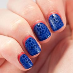 This Mystique nail art is both mystical and subtle.