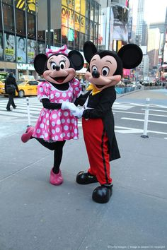 Mickey Mouse And Minnie Mouse Celebrate The Launch Of Disney Junior