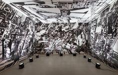 Avery Singer - Scenes - Stedelijk Museum Amsterdam