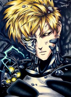 Genos One Punch Man by on DeviantArt One Punch Man Anime, Saitama One Punch Man, Sonic One Punch Man, One Punch Man Poster, Genos Wallpaper, Anime Wallpaper Live, Dark Anime Guys, Anime One, Foto One