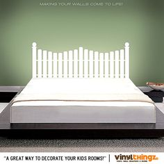 Hey, I found this really awesome Etsy listing at http://www.etsy.com/listing/118931795/wall-decals-picket-fence-vinyl-headboard