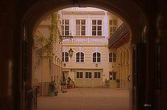 Wien - Vienna Österreich - Austria typischer Hinterhof