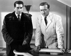 Richard Conte, David Niven , The Other Love , 1947 Richard Conte, David Niven, Vintage Men, Suit Jacket, Suits, Fictional Characters, Fashion, Moda, Fashion Styles