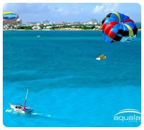Go parasailing in the worlds second largest great barrier reef!