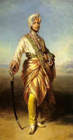 Maharajah Duleep Singh, by Franz Xaver Winterhalter - 1805-1873