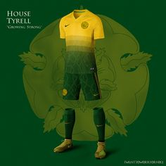 Game of Thrones Nike World Cup Kits