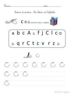 Voici quelques fiches d'activités de lecture et d'écriture autour de l'alphabet. Activités à glisser dans un porte-vues, à réaliser au feutre Velleda. Nota bene: Ces activités n'ont pas été expérimentées en classe....à vous de jouer! N'hésitez pas à me...