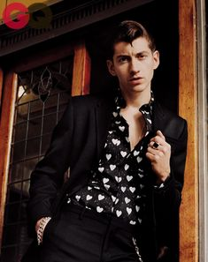 Alex turner gq magazine september 2013 fashion 04
