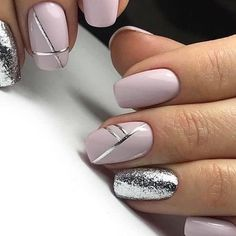 And now - great manicure for everyday! - And now – great manicure for everyday! – … And now - great manicure for everyday! - And now – great manicure for everyday! Classy Nails, Stylish Nails, Cute Nails, Pretty Nails, Hair And Nails, My Nails, Gell Nails, Work Nails, Trim Nails