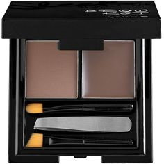 For perfectly shaped, groomed brows look no further than Sleek MakeUP's brow kit. Complete with all the tools you'll ever need for brows that flatter and frame your face, choose from two shades in light or dark to compliment your natural colouring. Eyebrow Kits, Eyebrow Makeup, Kosmetik Online Shop, Brow Wax, Eyeshadow For Brown Eyes, Sleek Makeup, Eyes Lips Face, Brow Powder, Perfect Brows