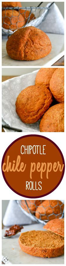 Vegan Chipotle Chile Pepper Rolls inspired by Cleveland, Ohio! Recipe on An Unrefined Vegan.
