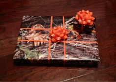 Next Christmas, all my presents WILL be wrapped in camo paper :)