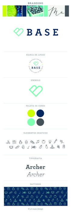 Branding para um evento que une bem-estar, exercícios e alimentação orgânica. Identidade visual, pattern, ícones.