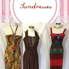 Sundress Large, XL and Plus Sizes New Items Large, XL and Plus Sizes Dresses Maxi