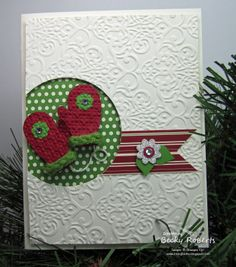 sweater trim stampin up - Google Search