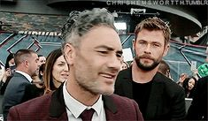 Taika ❤️ Freaking love these two!