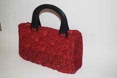 Ventalia Crochet Bag Handmade Bags, Straw Bag, Reusable Tote Bags, Crochet, Handmade Handbags, Ganchillo, Crocheting, Knits, Chrochet