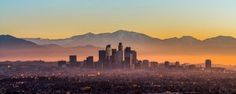 Downtown Los Angeles from Kenneth Hahn park...not a bad way to start of the year! : LosAngeles