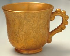 Imperial Glass Candlewick Gold Punch Cup