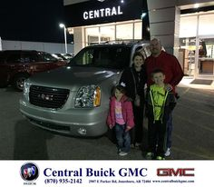 https://flic.kr/p/CR2NqV | Happy Anniversary to Jason & Jade on your #GMC #Yukon from Justin Duckert at Central Buick GMC! | deliverymaxx.com/DealerReviews.aspx?DealerCode=GHWO
