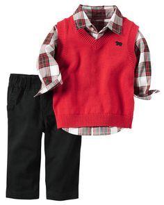 3-Piece Little Vest