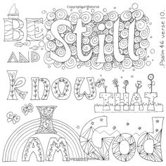 Images of Grace: An Inspirational Coloring Book: Jacqui Grace: Love Coloring Pages, Printable Adult Coloring Pages, Coloring Books, Colouring Sheets, Sunday School Coloring Pages, Scripture Doodle, Color Quotes, Color Sheets, Journaling