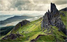 Fairy Glen' - Isle of Skye, Scotland.