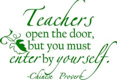 Teachers open the but you must enter by by designwithvinyl on Etsy, $17.95