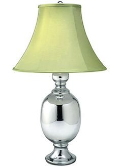 Jamie Young Lighting Table Lamp Base Saint Charles Mercury Glass Small  JY1STCHSMMG $173