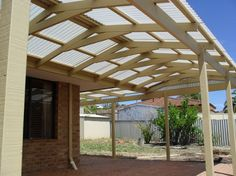 timber patio design fascia - Google Search